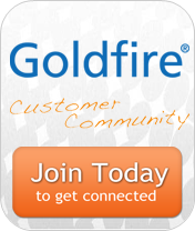 Register now for the Goldfire Customer Community!