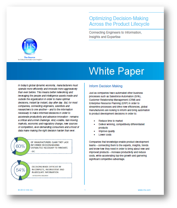 Optimize PLM Decisions Whitepaper